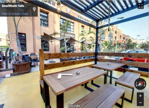 Marbella Virtual Tours – Smallworld Cafe