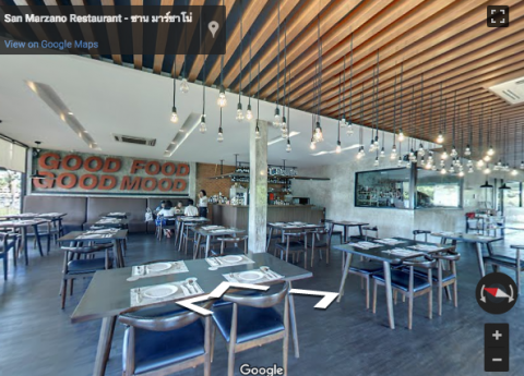 Bangkok Virtual Tours – San Marzano Restaurant