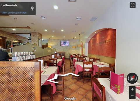 Madrid Virtual Tours – Restaurante El Rosaleda