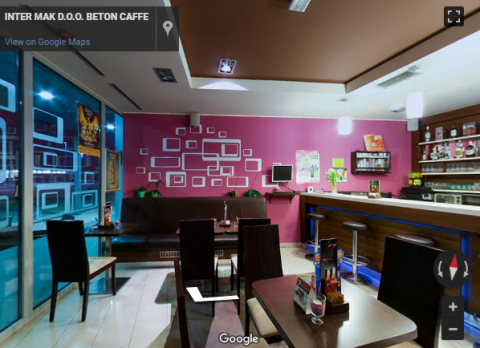 Slovenia Virtual Tours –  BETON CAFFE, INTER MAK D.O.O.