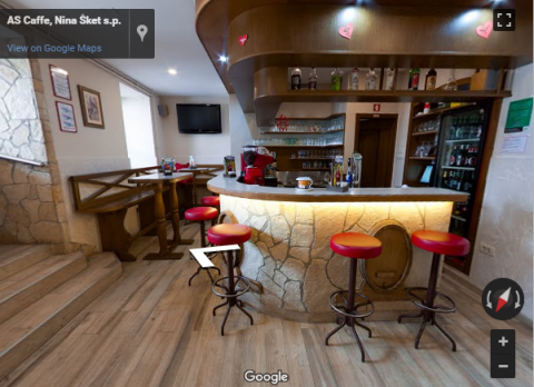 Slovenia Virtual Tours – Bar As caffe
