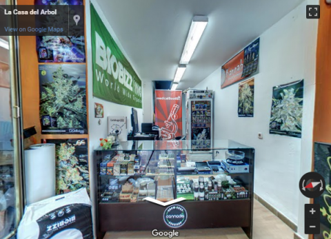 Malaga Virtual Tours – Grow Shop La Casa Del Arbol