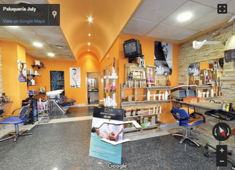Madrid Virtual Tours – Peluquería July