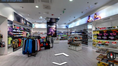 Slovenia Virtual Tours – Proteini shop Velenje