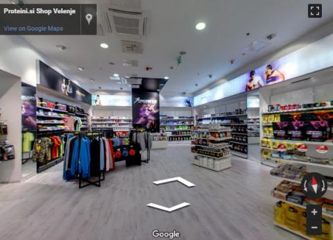 Slovenia Virtual Tours – Proteini shop Velenje