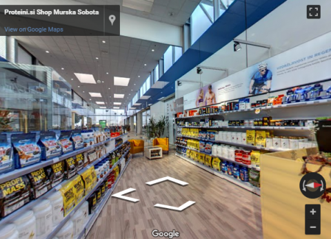 Slovenia Virtual Tours – Proteini shop Murska Sobota