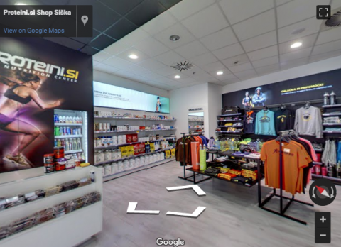 Slovenia Virtual Tours – Proteini shop Šiška