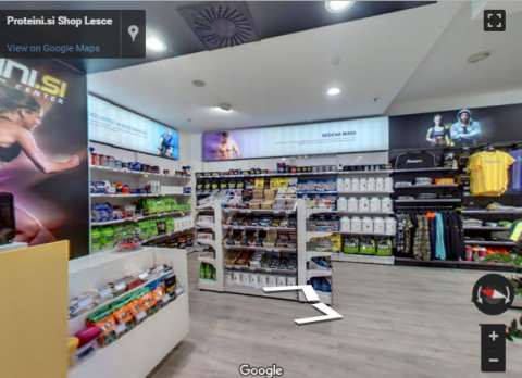Slovenia Virtual Tours – Proteini shop Lesce