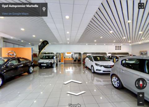 Marbella Virtual Tours – Opel Autopremier Marbella