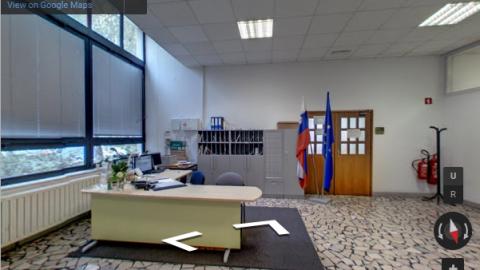 Slovenia Virtual Tours – Študentski dom Ljubljana -Uprava