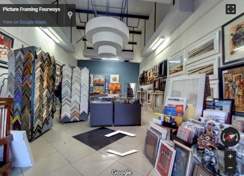 South Africa Virtual Tours – Picture Framing Fourways