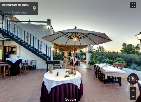 Ibiza Virtual Tours – Restaurante Sa Finca