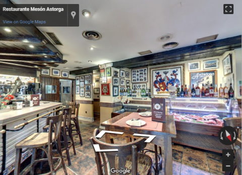 Malaga Virtual Tours –  Meson Astorga