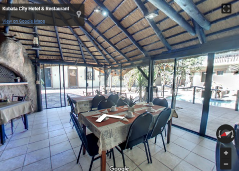 Namibia Virtual Tours – Kubata Restaurant