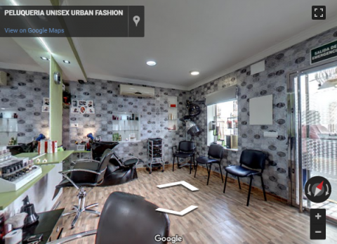 Ronda Virtual Tours – Peluqueria Urban Fashion