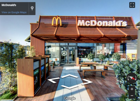 Castelló Virtual Tours – Mc. Donald´s – Castellón