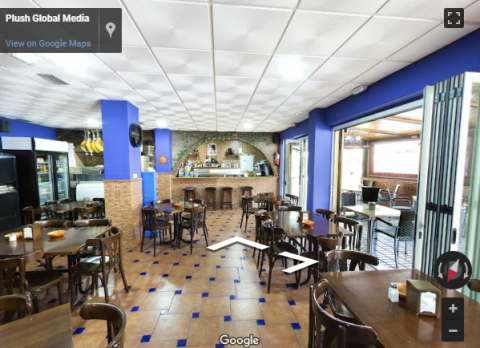 Marbella Virtual Tours – Restaurante pizzeria triana