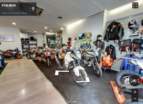Ibiza Virtual Tours – KTM-KYMKO IBIZA
