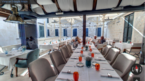 Croatia Virtual Tours – Proto Fish Restaurant Dubrovnik