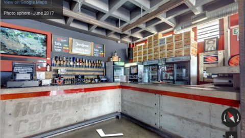 Johannesburg Virtual Tours – Adrenalin Cafe