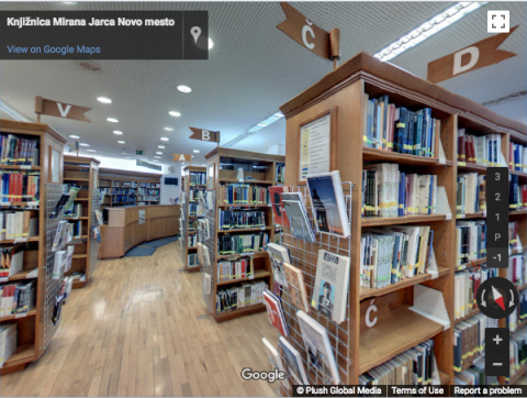 Slovenia Virtual Tours – Knjižnica Mirana Jarca
