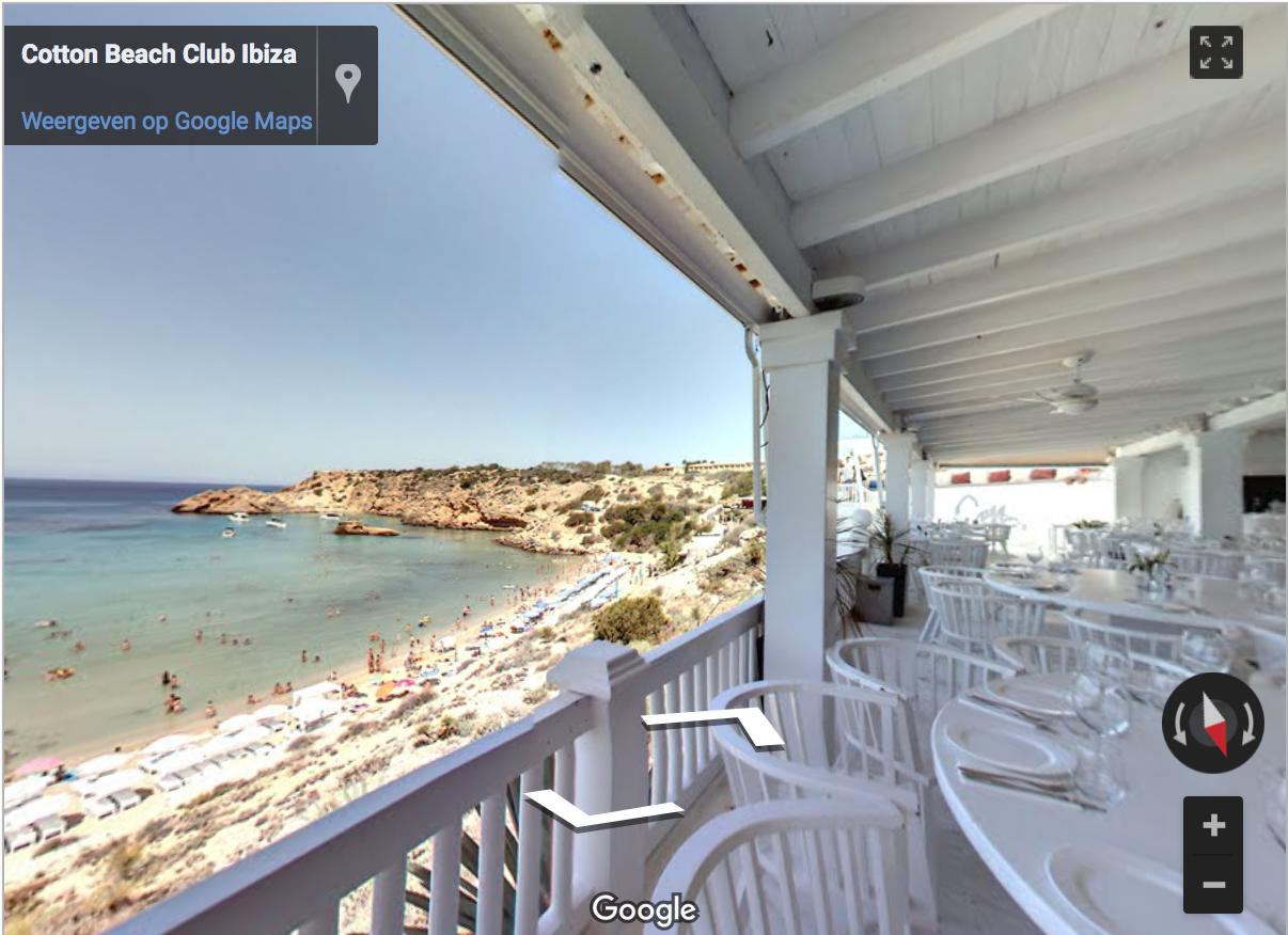 Ibiza virtual tours cotton beach club plush global media for Free virtual home tours online