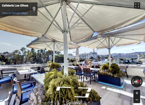 Malaga Virtual Tours – Cafetería Los Olivos