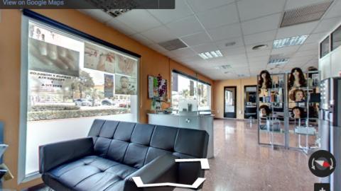 Algeciras Virtual Tours-Hairdressing School