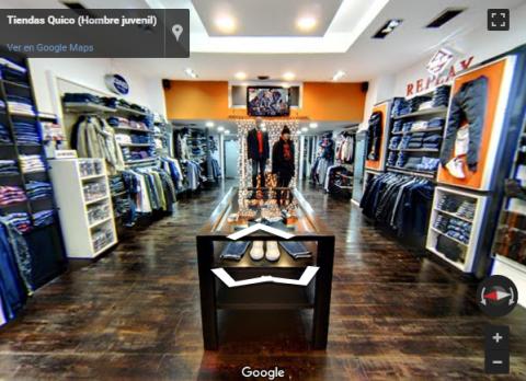 Cueta Virtual Tours – Tiendas Quico Hombre juvenil