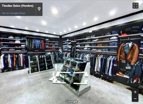 Cueta Virtual Tours – Tiendas Quico Hombre