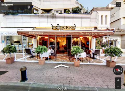 Marbella Virtual Tours –  Bollywood Restaurante Hindu