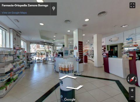Malaga Virtual Tours – Farmacia-Ortopedia Zamora Borrego