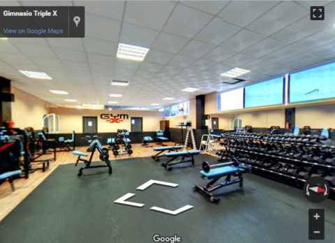 Fuengirola Virtual Tours – Gimnasio triple X