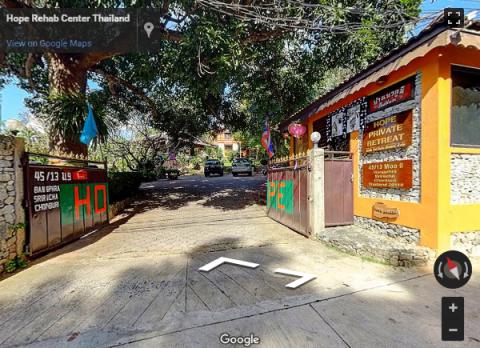 Bangkok Virtual Tours – Hope Rehab Center Thailand