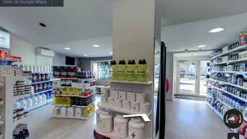 Slovenia Virtual Tours – Proteini shop Celje
