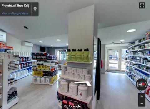 Slovenia Virtual Tours – Proteini shop Celje