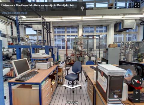 Slovenia Virtual Tours –  Fakulteta za kemijo in kemijsko tehnologijo