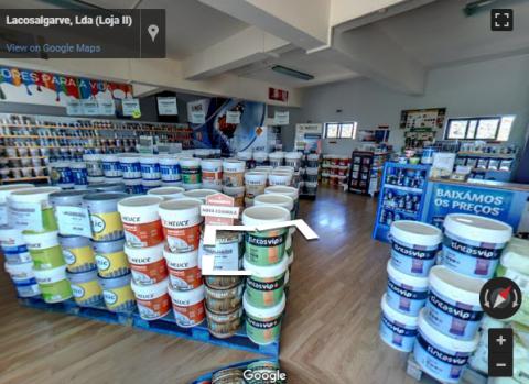 Algarve Virtual Tours – Lacosalgarve – Comércio e Venda de Tintas, Lda