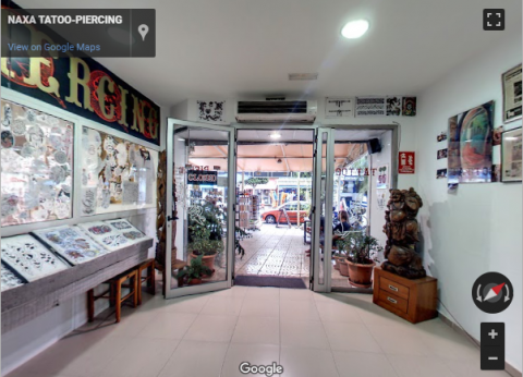 Ibiza Virtual Tours – NAXA TATOO-PIERCING