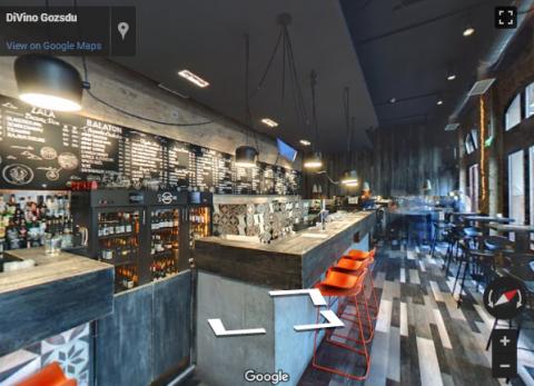 Budapest Virtual Tours – DiVino Gozsdu