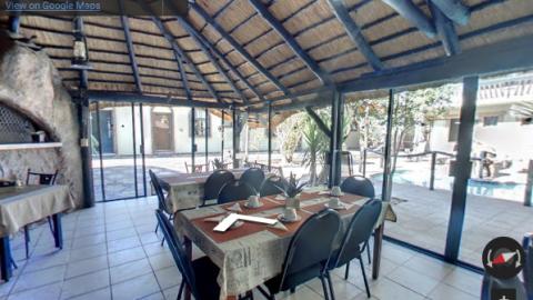 Namibia Virtual Tours – Kubata Restaurant
