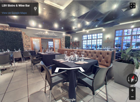 Johannesburg Virtual Tours – LBV Bistro & Wine Bar