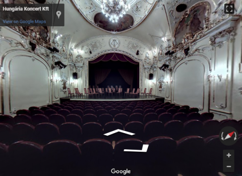 Budapest Virtual Tours – Duna Palota – Hungária Koncert Kft