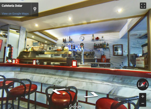 Ronda Virtual Tours – Cafeteria Dolar