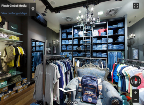 Slovenia Virtual Tours – PEPE JEANS CITY CENTER CELJE