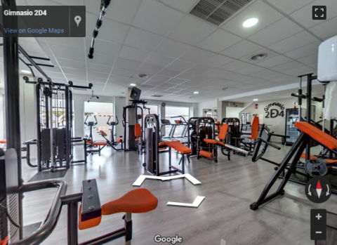 Ronda Virtual Tours – Gimnasio 2D4