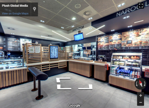 Slovenia Virtual Tours – McDonald's Lesce