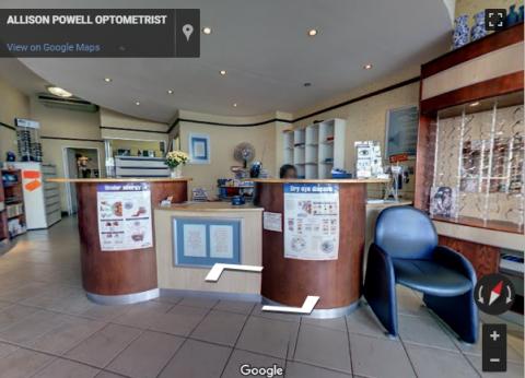 Johannesburg Virtual Tours – Allison Powell Optometrists