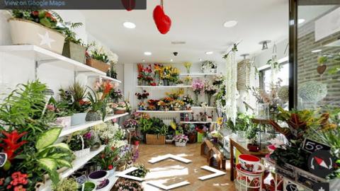 Madrid Virtual Tours – Mariola floristería