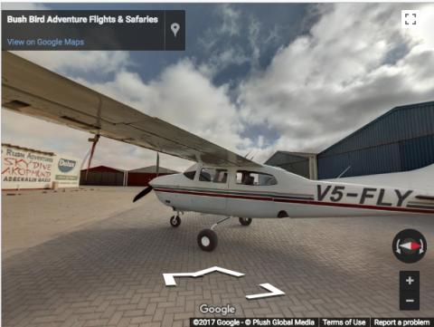 Namibia Virtual Tours –  Bushbird Adventure Flights & Safaries